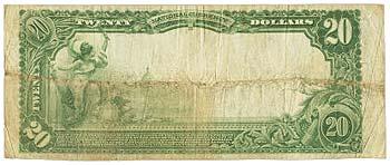 Farmersville, TX - $20 1902 Plain Back Fr. 653 The First NB Ch. # 3624