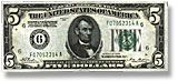 Old Federal Reserve Notes, 1928, 1934, 1950, 1963, etc