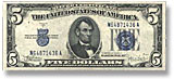 $5 and $10 Silver Certificates, 1934 and 1953